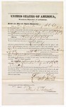 1874 July 22: Recognizance of witness Mrs. Lucinda Pag, in U.S. v. Harry Warfield, larceny, Floyd C. Babcock, commissioner