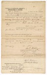 1874 August 13: Bond of defendant, U.S. v. Arurs Wellborn, larceny in the Indian Country; M.L. Wellborn and Charles B. Ames, sureties; F.C. Babcock, commissioner, including two justification of sureties