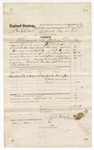 1874 September 28: Voucher, U.S. v. Hardy Celbert, larceny in the Indian Country; includes cost of travel expenses, mileage, feeding prisoner, and deputy; served by J.P. Allnutt, U.S. deputy marshal; Floyd C. Babcock, commissioner