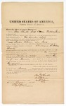 1874 August 22: Bond of witness, Sam Chudle, Sarth Caesar, Mitchell James, in U.S. v. Andrew Williams (alias Cook), larceny in the Indian Country; Edward J. Brooks, commissioner