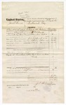 1874 September 25: Voucher, U.S. v. Jack Burns, assault with intent to kill in the Indian Country; includes cost of mileage, and feeding prisoner; served by J.P. Allnutt, U.S. deputy marshal; Floyd C. Babcock, commissioner