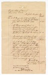 1874 November 30: Voucher, lists date ranges and prices to capture and transport Jacob White; James H. Cooper, U.S. deputy marshal