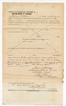 1874 September 26: Bond for defendant, U.S. v. Press Zander, assault with the intent to kill in the Indian Country; James Patterson, surety with note of surety; Edward J. Brooks, commissioner