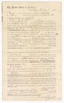 1874 October 9: Contract for posse comitatus, Henry Minehart, in U.S. v. Marian Dicksen and W.D. Welder, larceny; James O. Churchill, clerk; A.J. King, U.S. deputy marshal; J.F. Fagan, U.S. Marshal