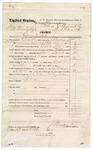 1874 October 29: Voucher, U.S. v. Ger Waytubby; includes cost of travel expenses, feeding prisoner, transportation, 1 guard, and feeding guard; J.C. Milkinson and Hugh McGuire, posse comitatus; M.H. Williams, guard; J.S. Vaudegrieff, U.S. deputy marshal; Floyd C. Babcock, commissioner