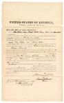 1874 October 9: Bond for witness, Nancy Noble, in U.S. v. Thomas Milkes(alias Wade Willis), retail liquor dealer in Indian Country; Edward J. Brooks, commissioner