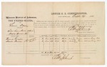 1874 October 29: Voucher, U.S. v. Lewis David, retail liquor dealer without paying special tax; includes cost of per diem and mileage; Frank Grayson and Newton Prince, witnesses; Edward J. Brooks, commissioner