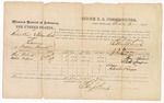 1874 October 31: Voucher, U.S. v. Robert Keel and William Butter, larceny in Indian Country; includes cost of per diem and mileage; Ben Roberts and One Impson, witnesses; J.F. Fagan, U.S. deputy marshal; Edward J. Brooks, commissioner