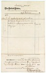 1874 November 11: Voucher, to J. Gilmor, includes cost of carpenter and lumber; James O. Churchill, clerk