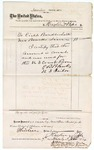 1874 November 7: Voucher, to Haglin V. Pape, includes cost of laths and lime; E.B. Blanks, jailor; James O. Churchill, clerk