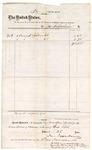1874 November 10: Voucher, to Jackson Pappenheimer, includes cost bronze spittoon; James O. Churchill, clerk