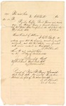 1874 November 13: Voucher, to E.B. Blanks, includes cost of coffin, burial expenses, and digging grave for William Grase, prisoner; James O. Churchill, clerk