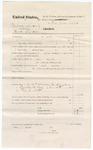1874 November 14: Voucher, U.S. v. Mahardy Snyder (alias Hardy Snyder); includes cost of subpoena of Thomas J. Scott; served by James Brizzolara