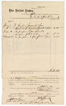 1875 June 25: Voucher, to J.H. Sparks; Include cost of paper and books; Stephen Wheeler, clerk