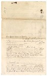 1875 January 28: Voucher, to Hugh McGuire, U.S. v. Napoleon Ussery, Russell McKinney, and Levi Adam, murder in the Indian Country and resisting process; includes cost of service as posse comitatus; A.C. Savage, U.S. deputy marshal; James O. Churchill, commissioner;
