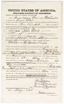 1875 May 10: Bond for witness, Phebe Allen and Sikino Washington, in U.S. v. John Woods, murder in the Indian Country; Simieon Colbert, surety; James O. Churchill, commissioner