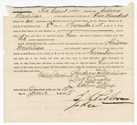 1875 June 12: Partial document, Andrew Waiterman, Lock Langley, Calvin Fargo