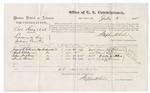 1875 July 3: U.S. v. Levi King et. al., larceny; James R. Robinson, Sarah E. Robinson, Isham Watkins, Mash Stewart, witnesses; Stephen Wheeler, commissioner