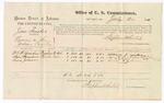 1875 July 20: U.S. v. Jim Smoker, larceny , William P. Yadon, Sam Saunders, and Lewis Johnson; Stephen Wheeler, commissioner