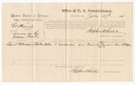 1875 July 27: U.S. v. Ed Harris, larceny; Daniel A. Norman, witness; Stephen Wheeler, commissioner