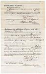 1875 August 02: Bond for defendant, U.S. v. Orlando J. Gray, introducing spirituous liquor , William M. Cravens and Robert J. Topping, sureties; Stephen Wheeler, commissioner
