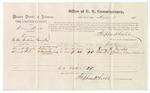 1875 August 03: Voucher, U.S. v. William Moody, larceny; Henry H. Brooks, Edmond Cohn, witnesses; Stephen Wheeler, commissioner