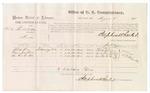 1875 August 03: Voucher, U.S. v. Harlaw Puskatubber, murder, Phillip Love, Laura Ann Love, Mrs. Ha-ti-kee, witnesses; Stephen Wheeler, commissioner; James Fagan, marshal