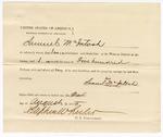 1875 August 24: Proclamation of worth, Samuel McIntosh; Stephen Wheeler, commissioner