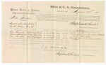 1875 August 24: Voucher, U.S. v. Walker Hawkins, assault with intent to kill , Clem Kennedy, Pleasant Blackstone, and March Marshal witnesses; Stephen Wheeler, commissioner