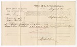 1875 August 27: Voucher, U.S. v. Henry Clay, larceny , Samuel Edmondson and George Williams, witnesses; Stephen Wheeler, commissioner