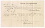 1875 August 28: Voucher, U.S. v. Henry Trimble, larceny , Wilson Rose and Henry Wilson, witnesses; Stephen Wheeler, commissioner; James Fagan, marshal