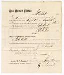 1875 August 31: Voucher for service of G.C. Clark guarding prisoners in the Fort Smith jail; G.S. Peirce, jailor; Stephen Wheeler, clerk
