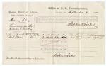 1875 September 02: Voucher, U.S. v. Henry Clay, larceny , James Barnett and Bud Dean, witnesses; Stephen Wheeler, commissioner