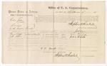 1875 September 3: Voucher, U.S. v. Ciler Jones, larceny in Indian country; George Taaffe and John Harris, witnesses; Stephen Wheeler, commissioner; James Fagan, marshal