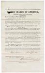 1875 September 04: Bond for witness, Samuel La Rue, for U.S. v. John Wheat, larceny; Stephen Wheeler, commissioner