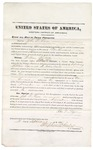 1875 September 04: Bond for witness, John R. Lyon, for U.S. v. William Whittaker, introducing spirituous liquors; Stephen Wheeler, commissioner