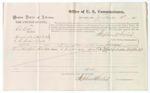 1875 September 04: Voucher, U.S. v. Ed Leek, assault with intent to kill; Louis Heartsfield, witness; Stephen Wheeler, commissioner; James Fagan, marshal