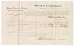 1875 September 04: Voucher, U.S. v. James Lordin, charged as A. W. Lordin, larceny; Thomas Williams and Nathan Cox, witnesses; Stephen Wheeler, commissioner; James Fagan, marshal