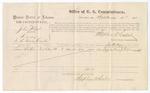1875 September 04: Voucher, U.S. v. John Wheat, larceny; Samuel La Rue, witness; Stephen Wheeler, commissioner; James Fagan, marshal