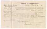 1875 September 6: Voucher, U.S. v. William J. Meltan, for assault; John Robinson, John Barnett, and Samuel Davis, witnesses; Stephen Wheeler, commissioner; James Fagan, marshal