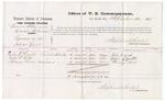 1875 September 14: Voucher, U.S. v. Lawrence Fisher and Sylvester Williams, larceny , John E. Cook, John T. Potts, and Henry Love, witnesses; Stephen Wheeler, commissioner