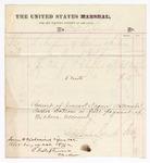 1875 October 8: Voucher, to Dr. F.L. Clarke for medicine and medical attendance on James Devany; E.L. Stephenson, clerk