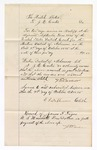 1876 October 09: Voucher, to J.E. Carter for services as bailiff at the U.S. District Court; E.L. Stephenson, clerk