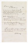 1876 October 9: Voucher, to E.M. Mooney for services as Bailiff of the U.S. District Court; E.M. Mooney, clerk