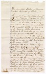 1875 October 23: Recognizance, William Lucas, witness and principle, in U.S. v. Nathaniel Warford, larceny in Indian country; Caldin D. Gunter and M.W. Dial, sureties; Stephen Wheeler, clerk; G.S. Williams, D.C.; E.B. Harrison, commissioner