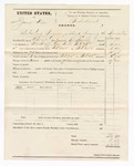1875 February 28: Voucher, U.S. v. James Wise, retailing liquor without paying the special tax; includes cost of mileage, feeding prisoner, and travel expenses; served by E. Mooney