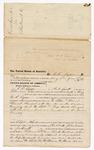 1876 June 24: Voucher, to C.C. Ayers, of Fort Smith, Arkansas, for assisting W.R. Ayers, U.S. deputy marshal, in U.S. v. Daniel Stewart, murder , U.S. v. Cap Hicks, violation International Revenue Service; Stephen Wheeler, clerk; J.F. Fagan U.S. marshal