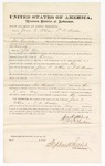 1876 May 8: Bond for witness, James N. McLee and Thomas B. Madden, witnesses, in U.S. v. John Varn, larceny; Stephen Wheeler, commissioner