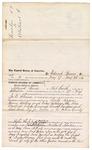 1876 June 9: Voucher, to Edward Burns, of Fort Smith, Arkansas, for assisting J.C. Wilkinson, U.S. deputy marshal, in U.S. v. Lovely Rogers, Thomas Rathing, Colsey Badindge, Ross Deerdrick, Candy Cummings, Creek Sampson, and Red Bird Pig, murder; Stephen Wheeler, clerk
