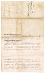 1876 June 9: Voucher, to James Doyle, of Fort Smith, Arkansas, for assisting J.W. Searle, U.S. deputy marshal, in U.S. v. Armstead Hogan; Stephen Wheeler, clerk